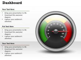 45688805 Style Essentials 2 Dashboard 1 Piece Powerpoint Presentation Diagram Infographic Slide