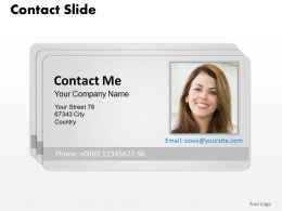 0314 Design Of Contact Card