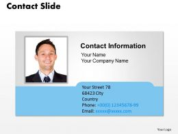 0314 Design Of Contact Information