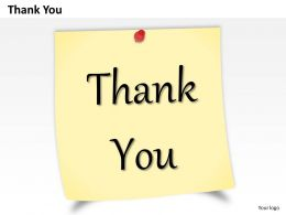 0314 Design Of Thank You Note