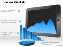 0314 Digital Illustration of Financial Reports