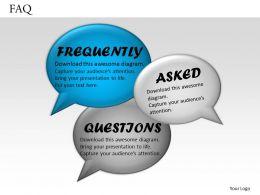 93154589 Style Essentials 2 Thanks-FAQ 1 Piece Powerpoint Presentation Diagram Infographic Slide