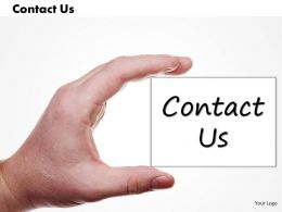 0314 Hands Holding Contact Us Card