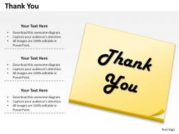 0314 Handwritten Thank You Slide