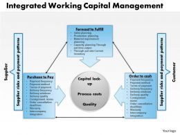 0314 Integrated Working Capital Management Powerpoint Presentation