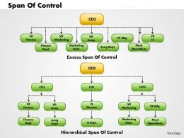 0314 Organization Chart Powerpoint Presentation
