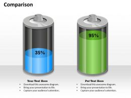0314_percentage_comparison_business_design_Slide01