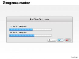 0314 Progress Meter Dashboard Design