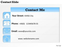 0314 Slide Design With Contact Information