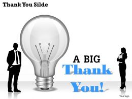 0314 Thank You Powerpoint Background