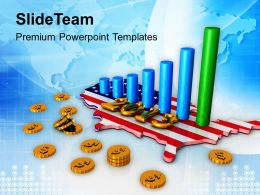 0413 2013 Financial Growth Year Americana PowerPoint Templates PPT Themes And Graphics