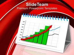 0413 2d Graph For Growth PowerPoint Templates PPT Themes And Graphics
