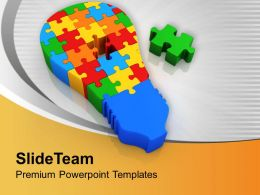 0413 3d Jigsaw Puzzles For Business Solution PowerPoint Templates PPT Themes And Graphics