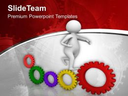 0413 3d Man Running To Achieve PowerPoint Templates PPT Themes And Graphics