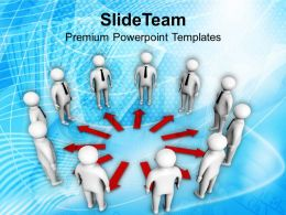 0413 3d Team In Circle Teamwork Concept PowerPoint Templates PPT Themes And Graphics
