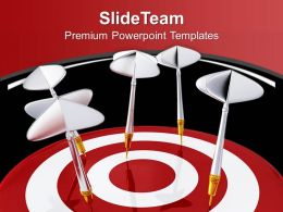 0413 Achieve Your Target And Do Not Miss It PowerPoint Templates PPT Themes And Graphics
