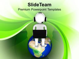 0413 Attach With Global Business PowerPoint Templates PPT Themes And Graphics