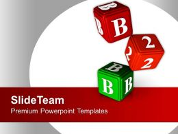 0413 B 2 B Cubes Business PowerPoint Templates PPT Themes And Graphics