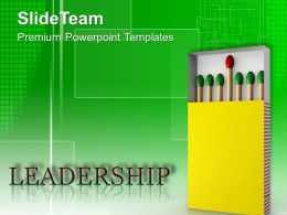 0413 Be A Leader And Lead The Group PowerPoint Templates PPT Themes And Graphics