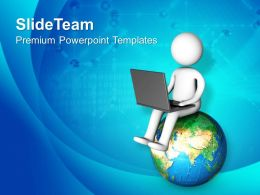 0413 Connect With World Globel Business Theme PowerPoint Templates PPT Themes And Graphics