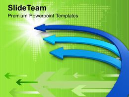 0413_interconnected_arrows_leads_to_one_goal_powerpoint_templates_ppt_themes_and_graphics_Slide01