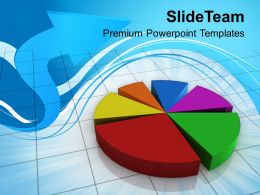 0413 Pie Chart Business Theme PowerPoint Templates PPT Themes And Graphics