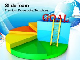 0413 Statistical Business Achievement Goal PowerPoint Templates PPT Themes And Graphics