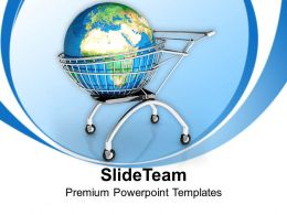 0413 Think About The Global Market PowerPoint Templates PPT Themes And Graphics