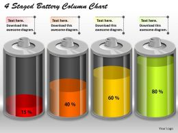 0414_4_staged_battery_column_chart_powerpoint_graph_Slide01