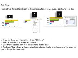 0414 Bar Chart For Business Report PowerPoint Graph