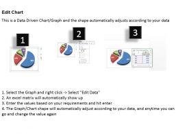 0414 Business Comparison Pie Chart Powerpoint Graph