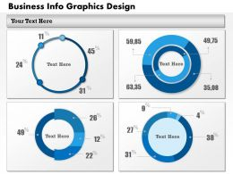 0414 Business Consulting Diagram Business Info Graphics Design Powerpoint Slide Template