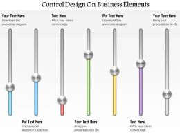 0414 Business Consulting Diagram Control Design On Business Elements Powerpoint Slide Template