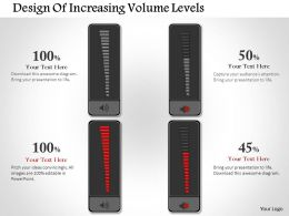 0414 Business Consulting Diagram Design Of Increasing Volume Levels Powerpoint Slide Template