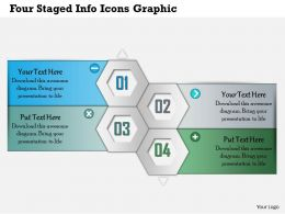 0414 Business Consulting Diagram Four Staged Info Icons Graphic Powerpoint Slide Template