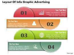 0414 Business Consulting Diagram Layout Of Info Graphic Advertising Powerpoint Slide Template