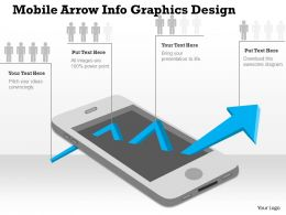0414 Business Consulting Diagram Mobile Arrow Info Graphics Design Powerpoint Slide Template