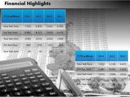 24344714 Style Essentials 2 Financials 1 Piece Powerpoint Presentation Diagram Infographic Slide