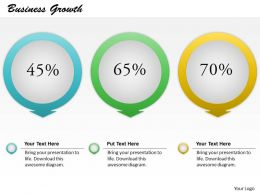 0414 Business Growth Powerpoint Template Slide