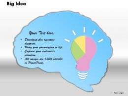 0414_business_idea_bulb_pie_chart_powerpoint_graph_Slide01