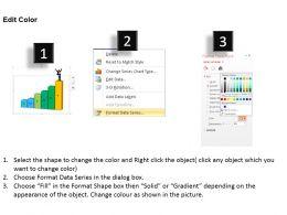 0414 Business Success Concept Column Chart Powerpoint Graph