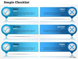 0414 Checklist Powerpoint Presentation