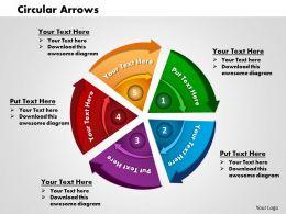 0414 Circular Arrows In Powerpoint Presentation