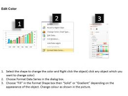 0414 Column Line Chart For Cumulative Performance Powerpoint Graph