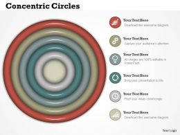 0414 Concentric Circles In Powerpoint Presentation