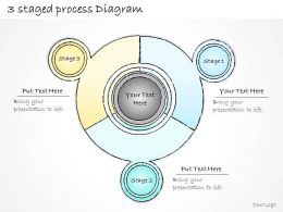 0414 Consulting Diagram 3 Staged Process Diagram Powerpoint Template