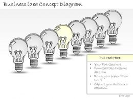 0414 Consulting Diagram Business Idea Concept Diagram Powerpoint Template