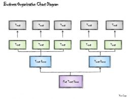 0414 Consulting Diagram Business Organization Chart Diagram Powerpoint Template
