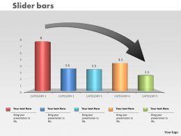 0414_down_arrow_on_column_chart_powerpoint_graph_Slide01