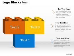 0414 Lego Blocks In PowerPoint Presentation